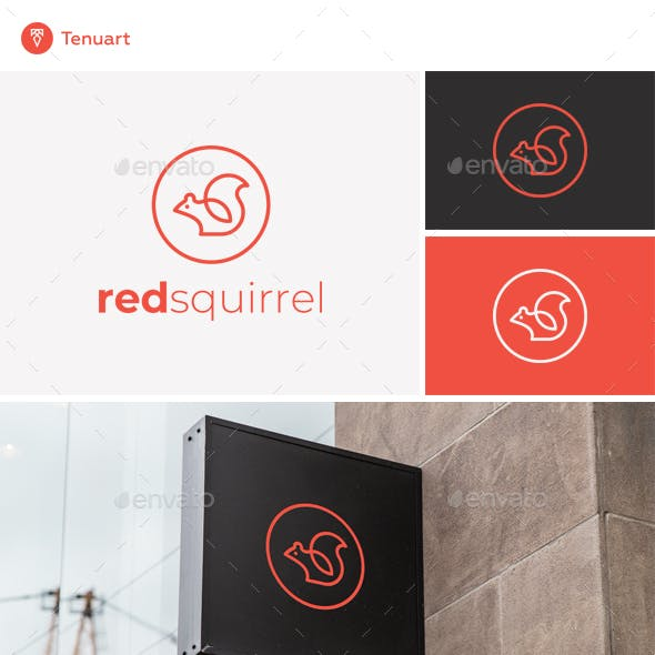 Red Squirrel Logo