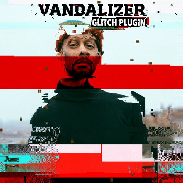 Glitch Vandalizer - Photoshop Plugin