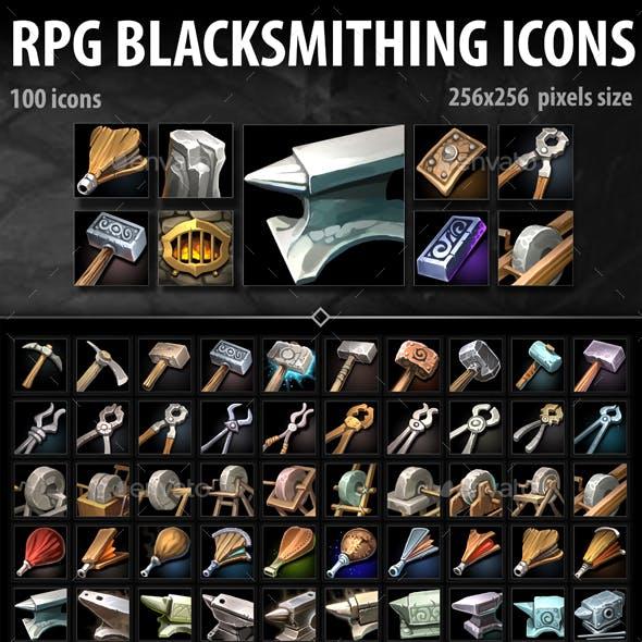 RPG Blacksmithing Icons