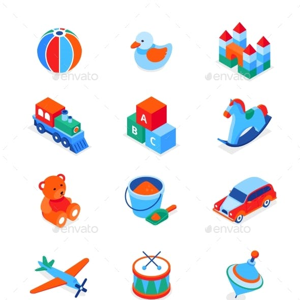 Toys and Leisure Games for Children - Modern