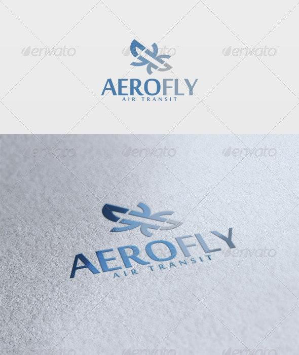 Aero Fly Logo - Vector Abstract