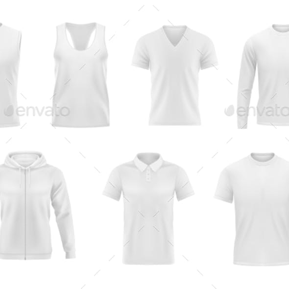 Men Clothes Vector Tshirt, Hoodie and Polo Shirt