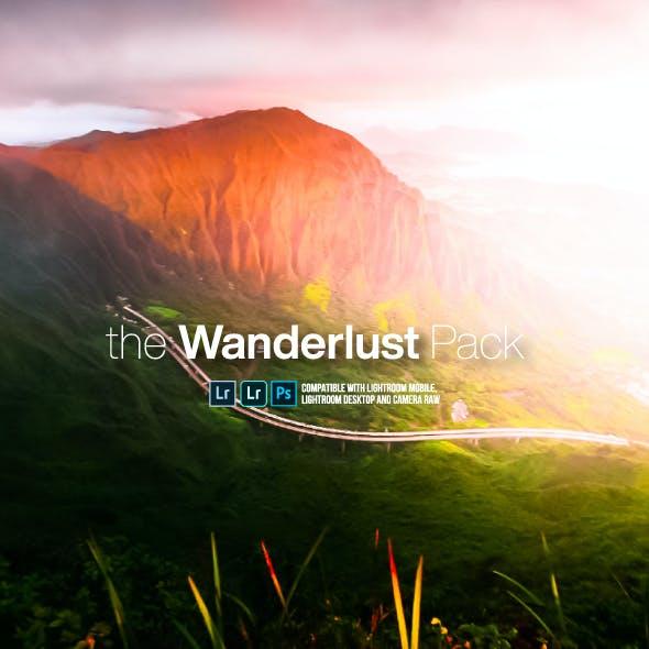 The Wanderlust Pack Lightroom Mobile and Desktop Presets