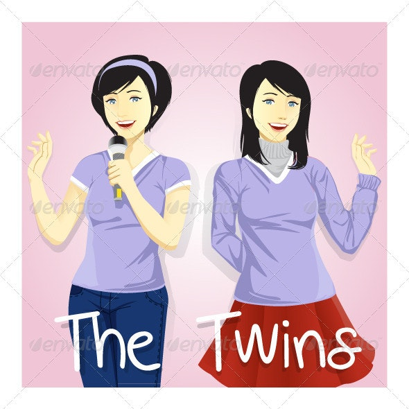 Twin Sisters - People Characters