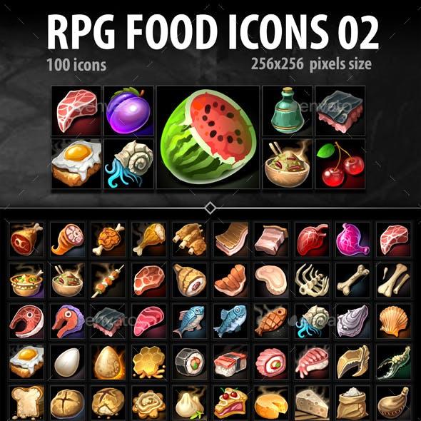 RPG Food Icons 02