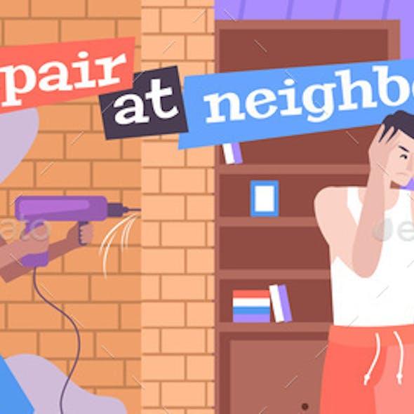 Neighbors Repair Composition