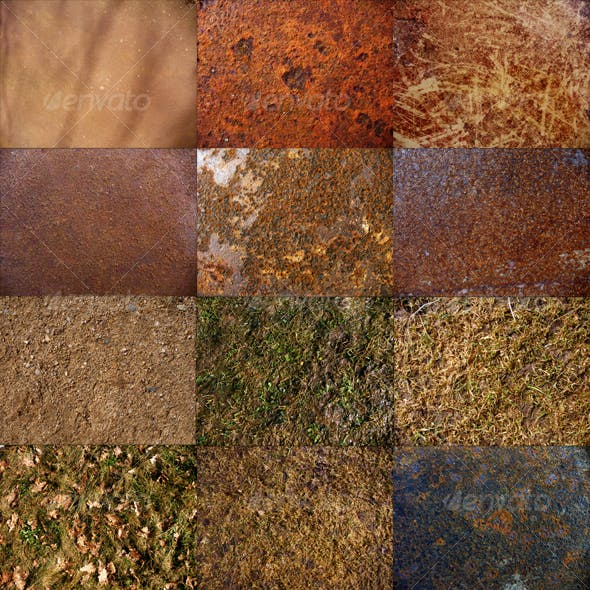 24 Miscellaneous Textures pack