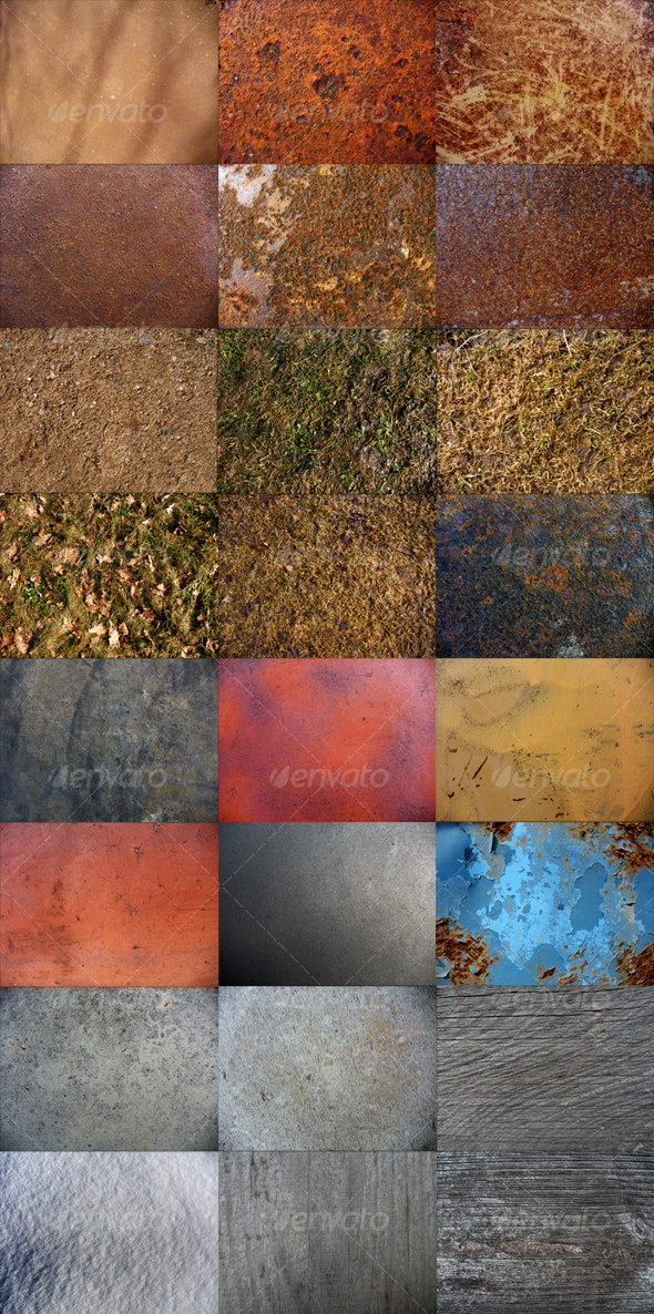 24 Miscellaneous Textures pack - Miscellaneous Textures