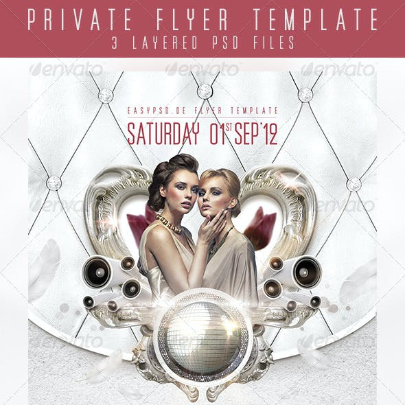 Private Flyer Template