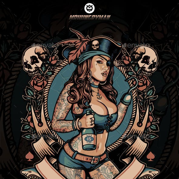 The Pirate Girl