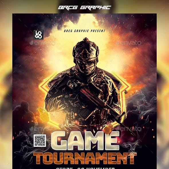 Game Tournament Flyer