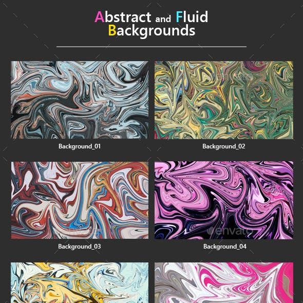 Abstract and Fluid Backgrounds