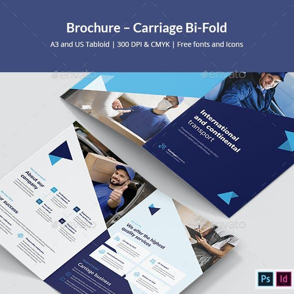 Brochure – Carriage Bi-Fold