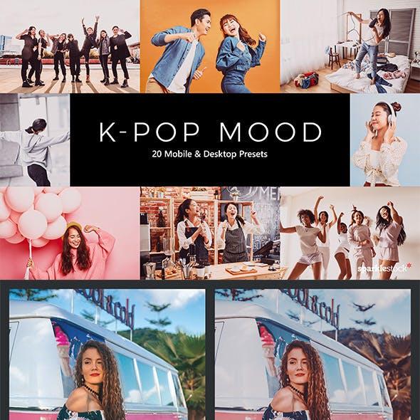 20 K-Pop Mood Lightroom Presets & LUTs