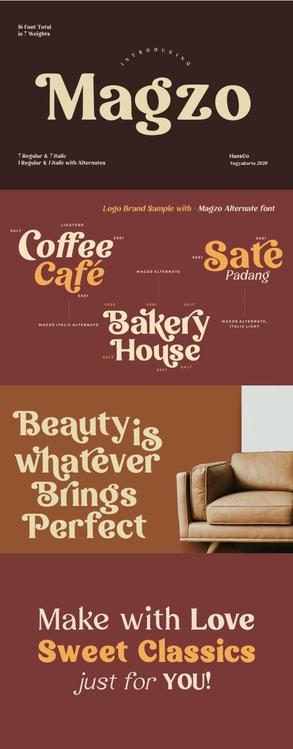 Magzo - Miscellaneous Serif