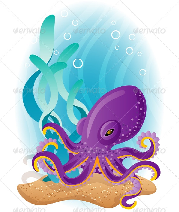 Octopus - Animals Characters