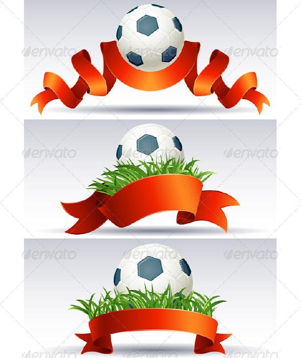 Soccer  ball - Backgrounds Decorative
