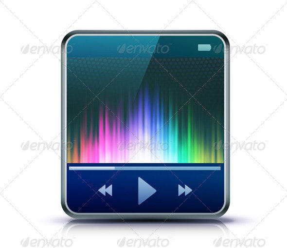 Media player - Conceptual Vectors