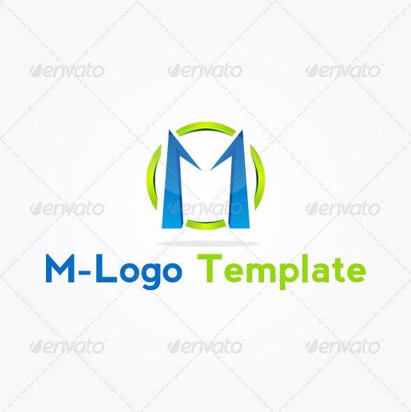 M-Logo Template - Letters Logo Templates