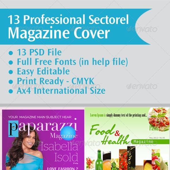 13 Professional Sectorel Magazine Cover