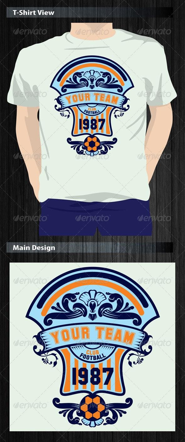 Club Football T-Shirt