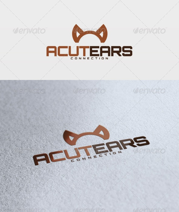 Acute Ears Logo - Vector Abstract