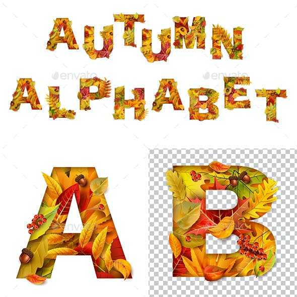 Autumn Alphabet