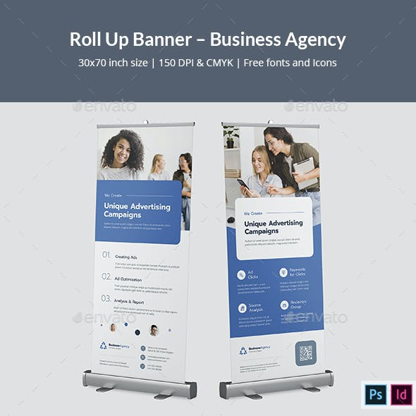 Roll Up Banner – Business Agency
