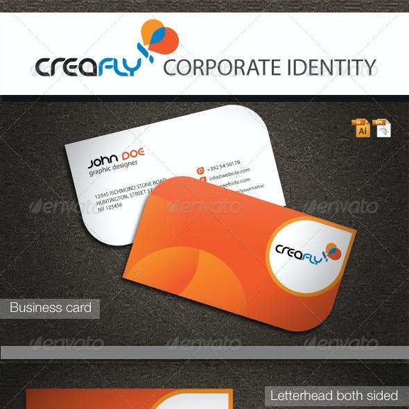 CreaFly Corporate Identity