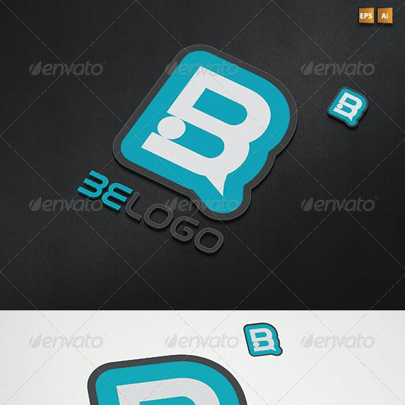 Two Versions Abstract Letter B Logo