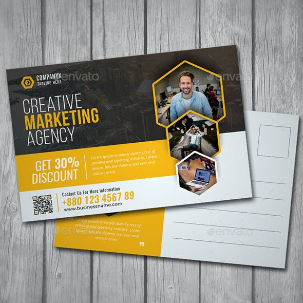 Business Post Card V01