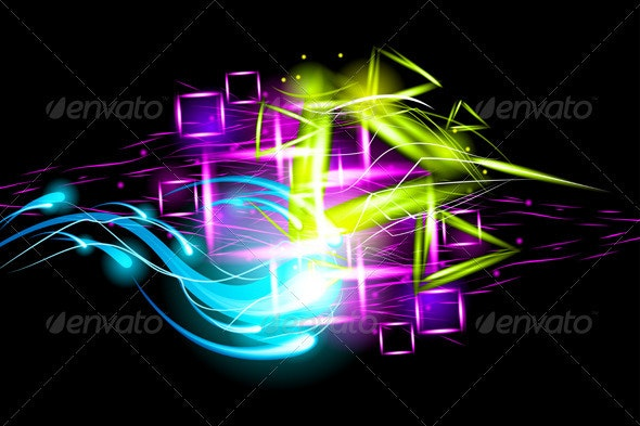 Light effect background - Abstract Conceptual