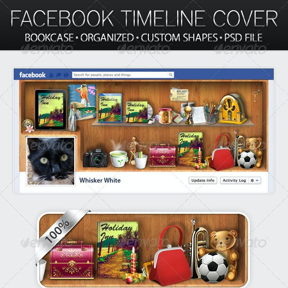 Bookcase - Facebook Timeline Cover
