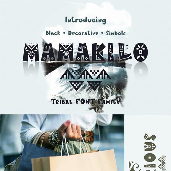 MamaKilo - Tribal Font Family