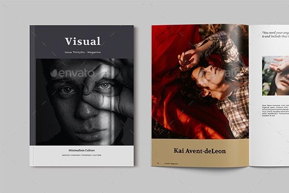Creative Magazine Template - Magazines Print Templates