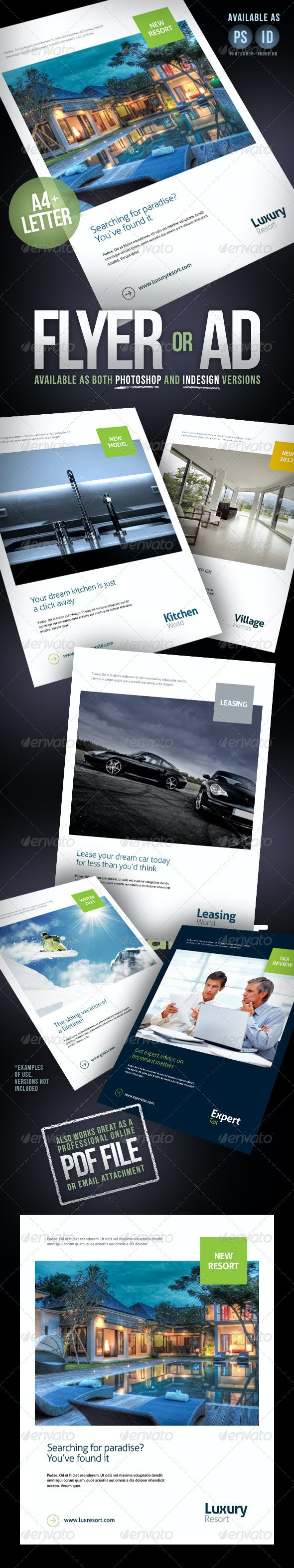 Flyer, Magazine Ad or Product Sheet - Commerce Flyers