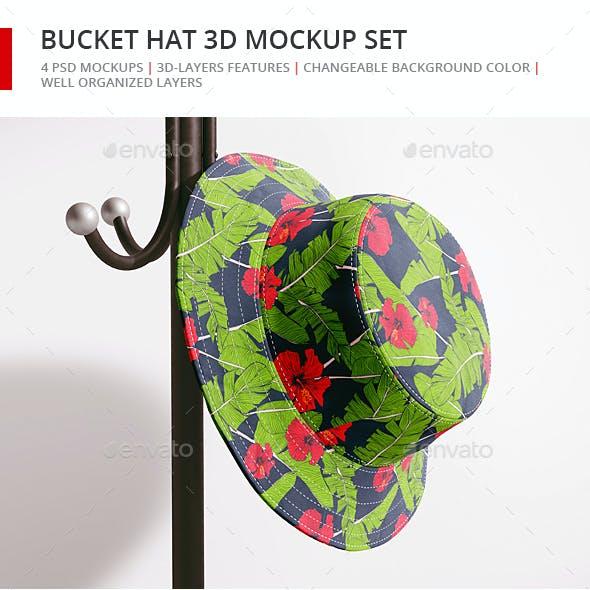 Bucket Hat Mockup Set