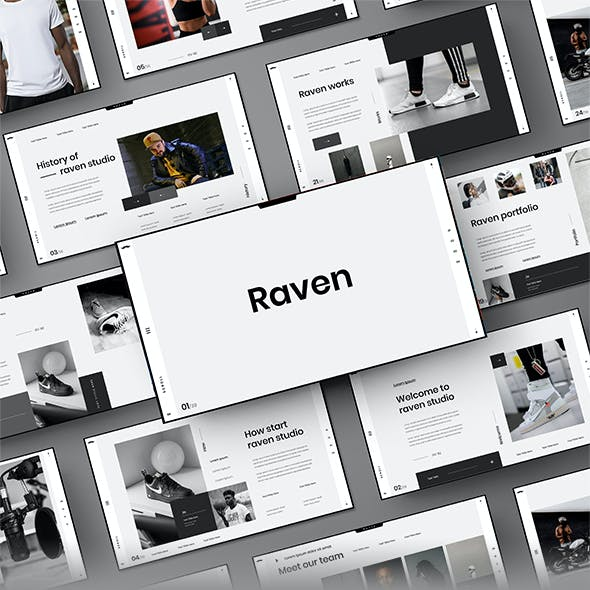 Raven – Business Google Slides Template