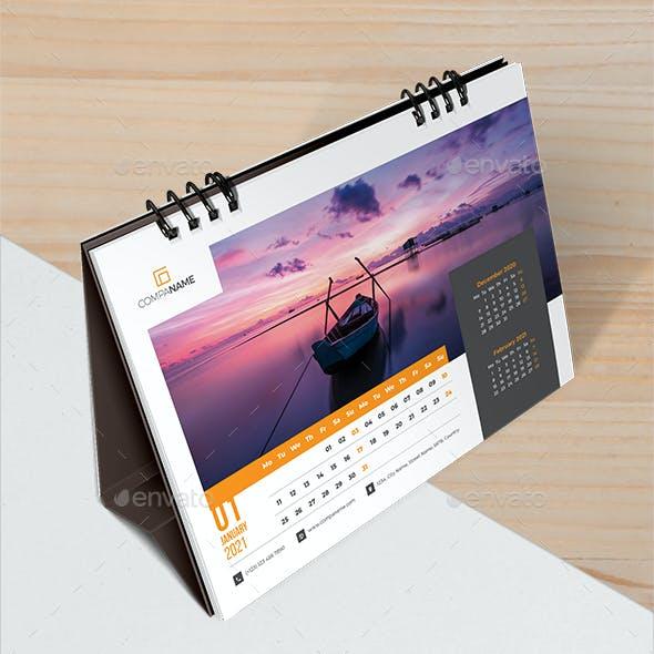 Desk Calendar 2021 Planner