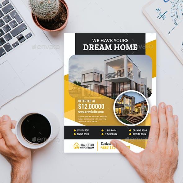 Real Estate Business Flyer V62