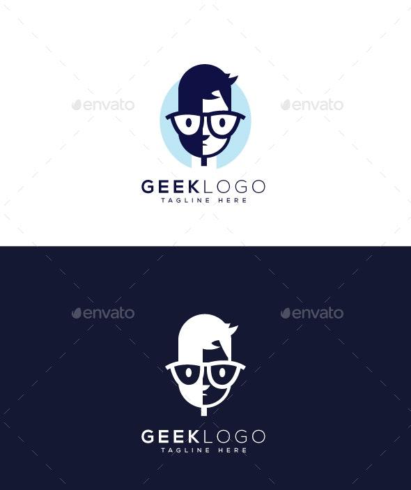 Geek Logo - Humans Logo Templates