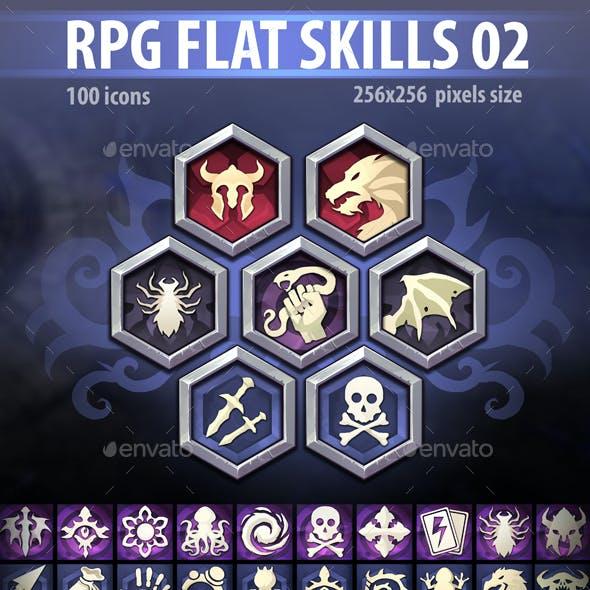 RPG Flat Skills 02