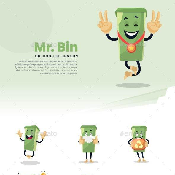 Mr. Bin - The Dustbin