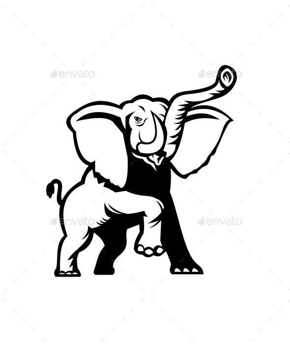 African Elephant - Animals Characters