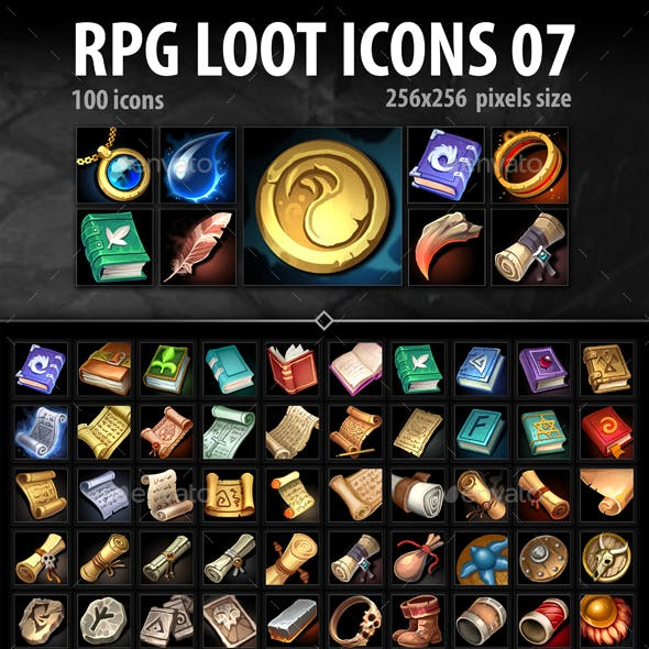 RPG Loot Icons 07