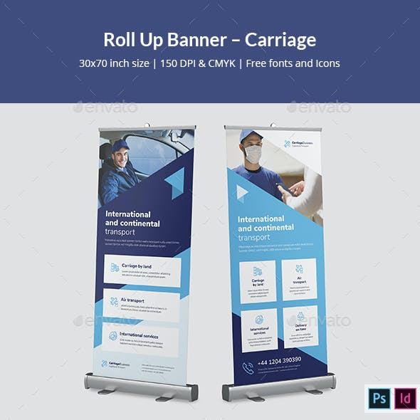 Roll Up Banner – Carriage