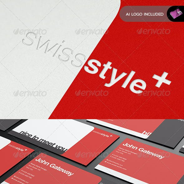Swiss Stationary Template - Vol.1