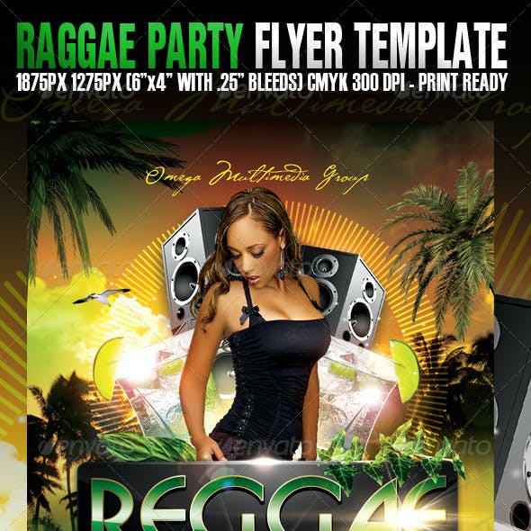 Raggae Party Template