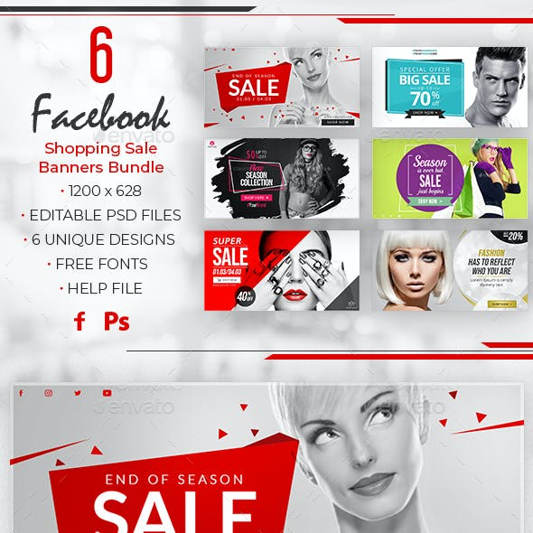 Facebook Sale Banners
