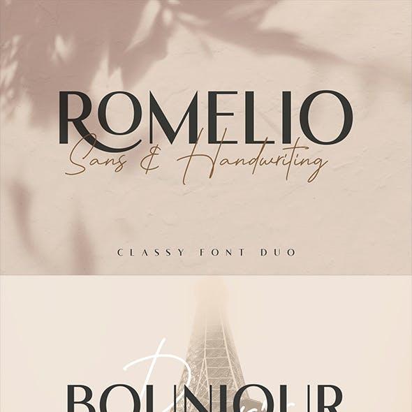 Romelio - Font Duo